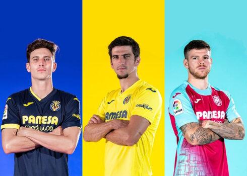 Camisetas Joma del Villarreal CF 2020/21 | Imagen Web Oficial