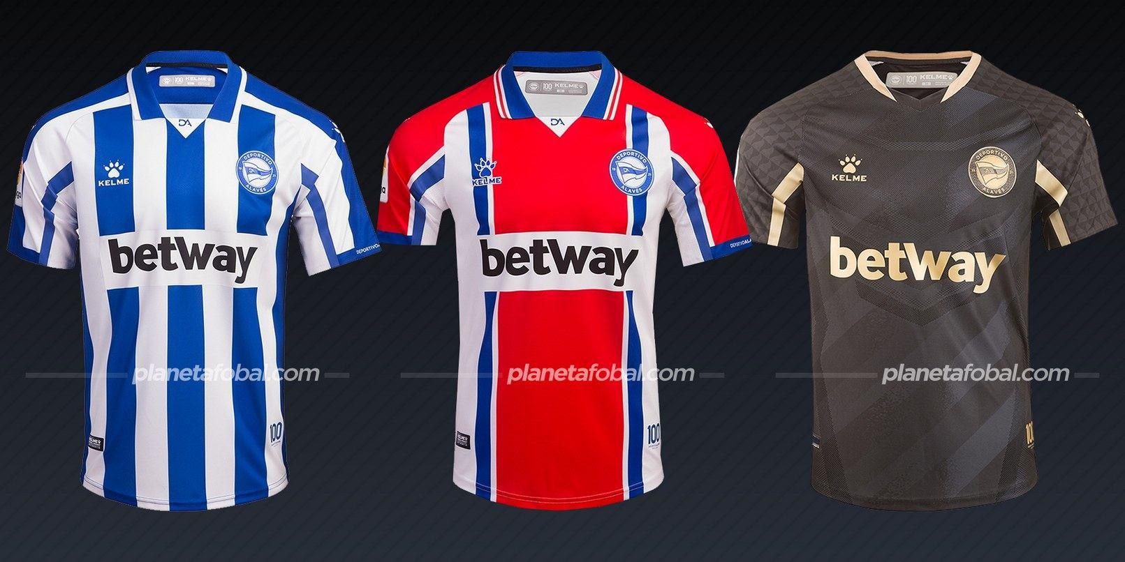 Deportivo Alaves (Kelme) | Camisetas de la Liga española 2020/2021