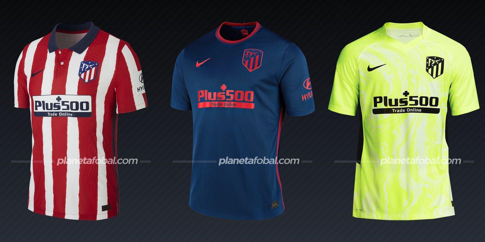 Atlético de Madrid (Nike) | Camisetas de la Liga española 2020/2021