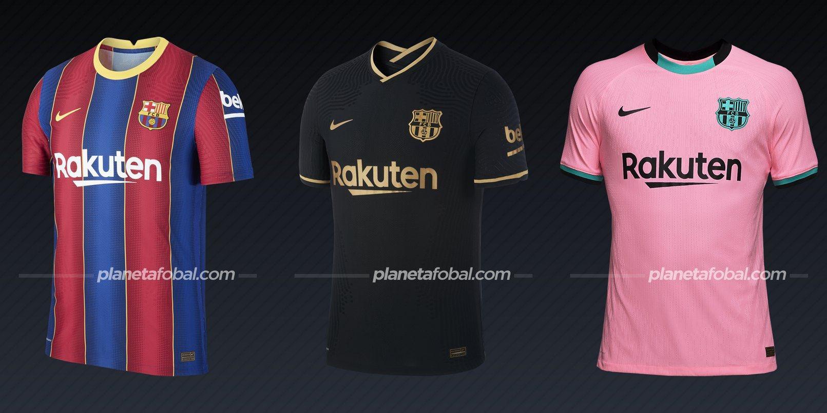 Barcelona (Nike) | Camisetas de la Liga española 2020/2021