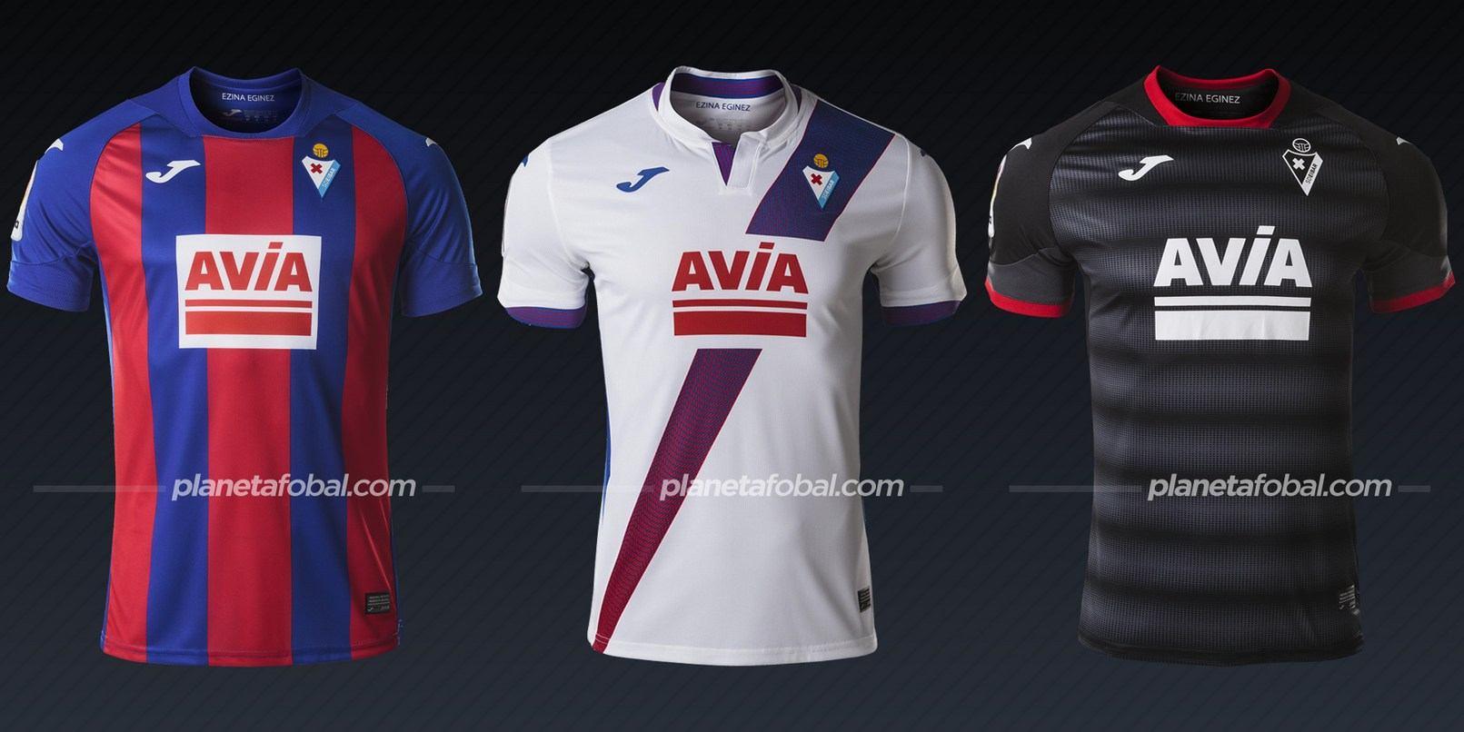 SD Eibar (Joma) | Camisetas de la Liga española 2020/2021