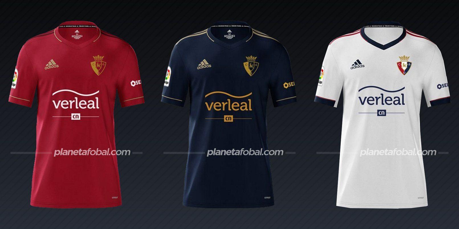 Osasuna (adidas) | Camisetas de la Liga española 2020/2021