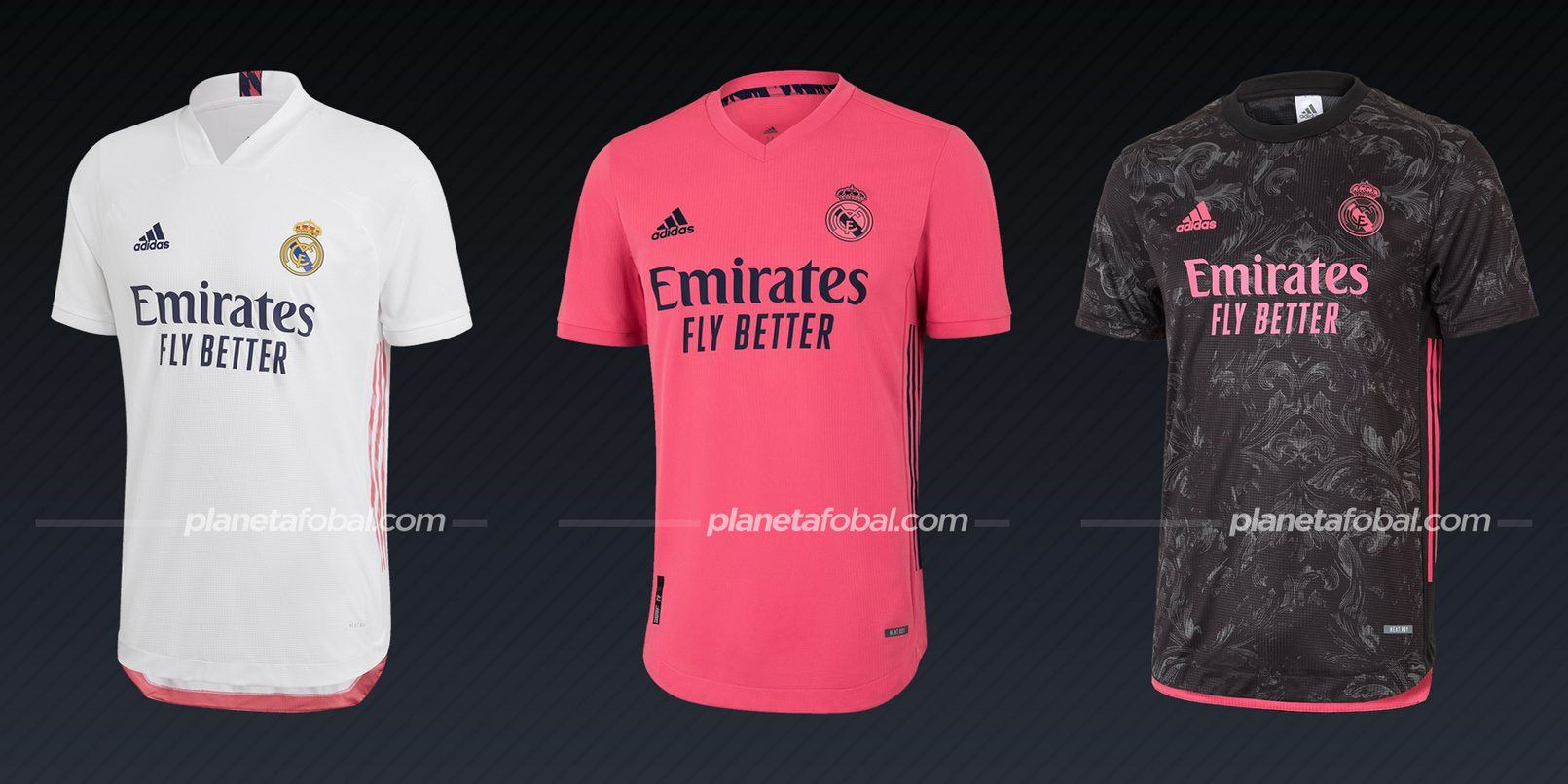 Real Madrid (adidas) | Camisetas de la Liga española 2020/2021