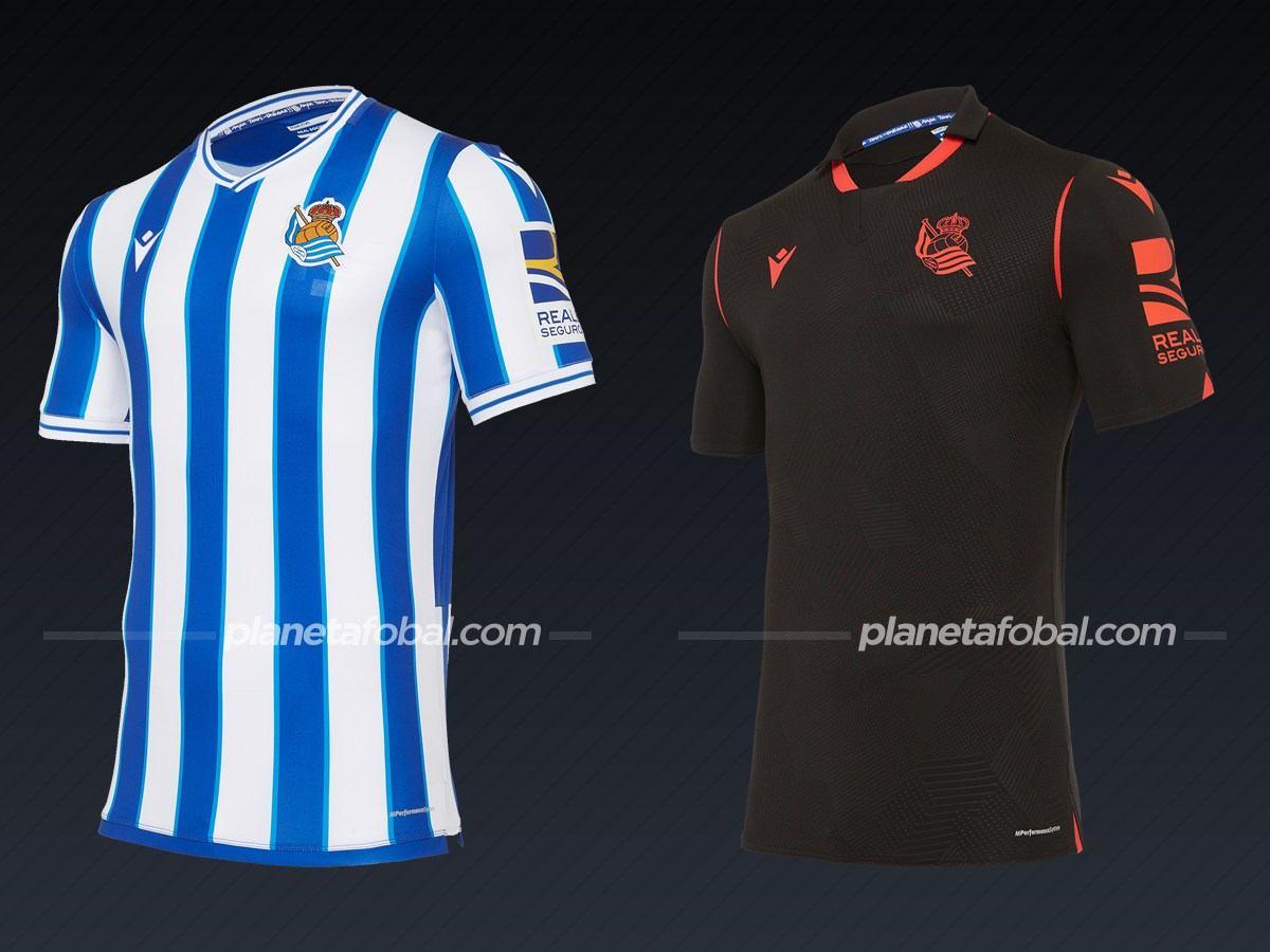 Real Sociedad (Macron) | Camisetas de la Liga española 2020/2021