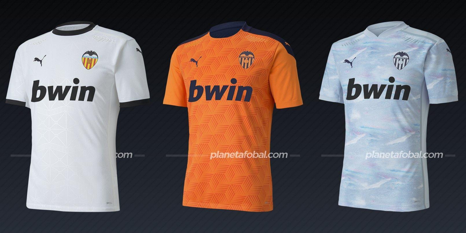 Valencia (PUMA) | Camisetas de la Liga española 2020/2021