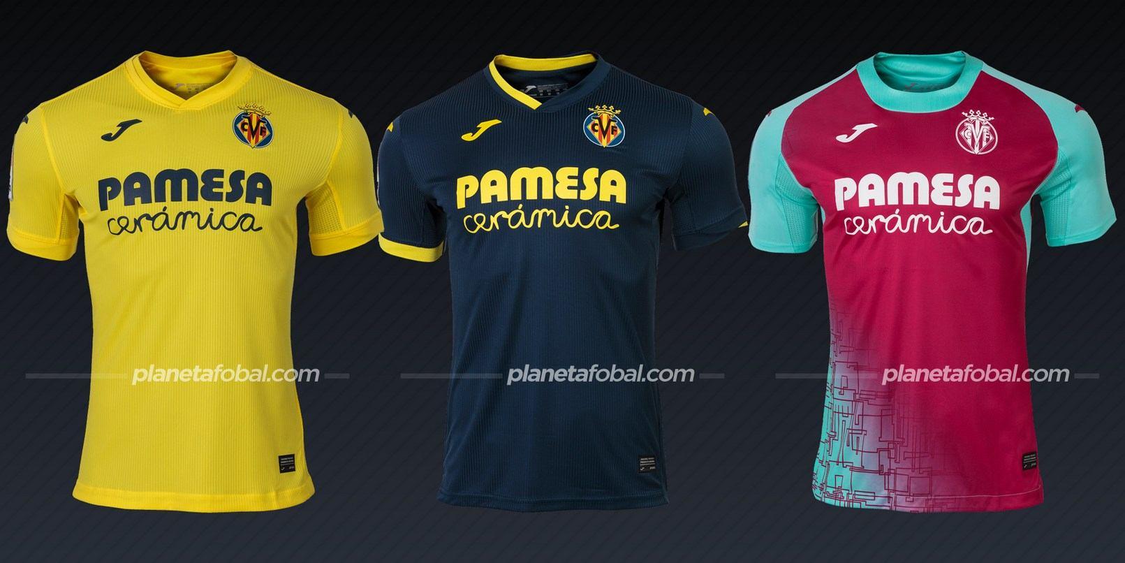 Villarreal (Joma) | Camisetas de la Liga española 2020/2021