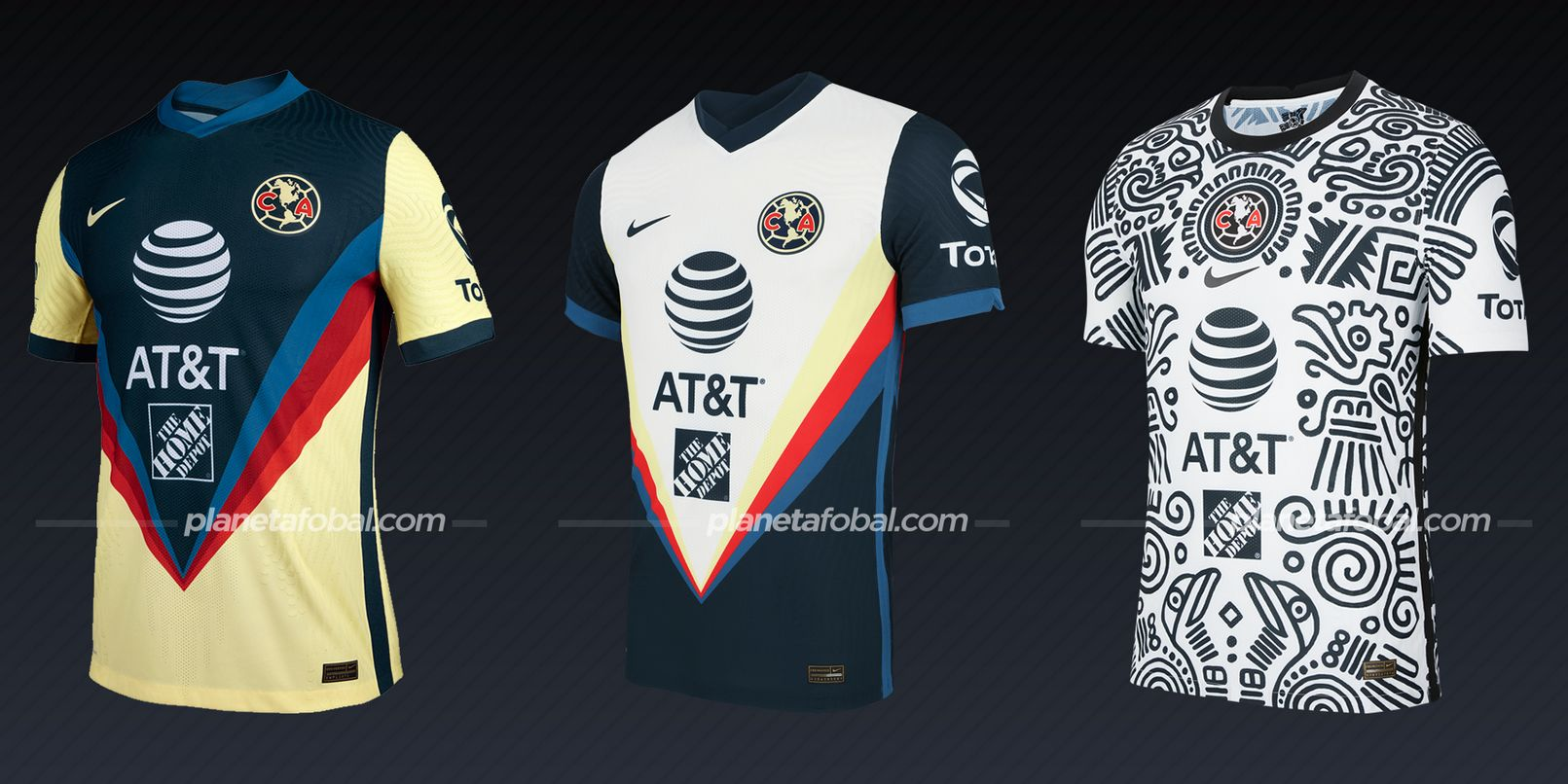 Club América (Nike) | Camisetas de la Liga MX 2020/2021