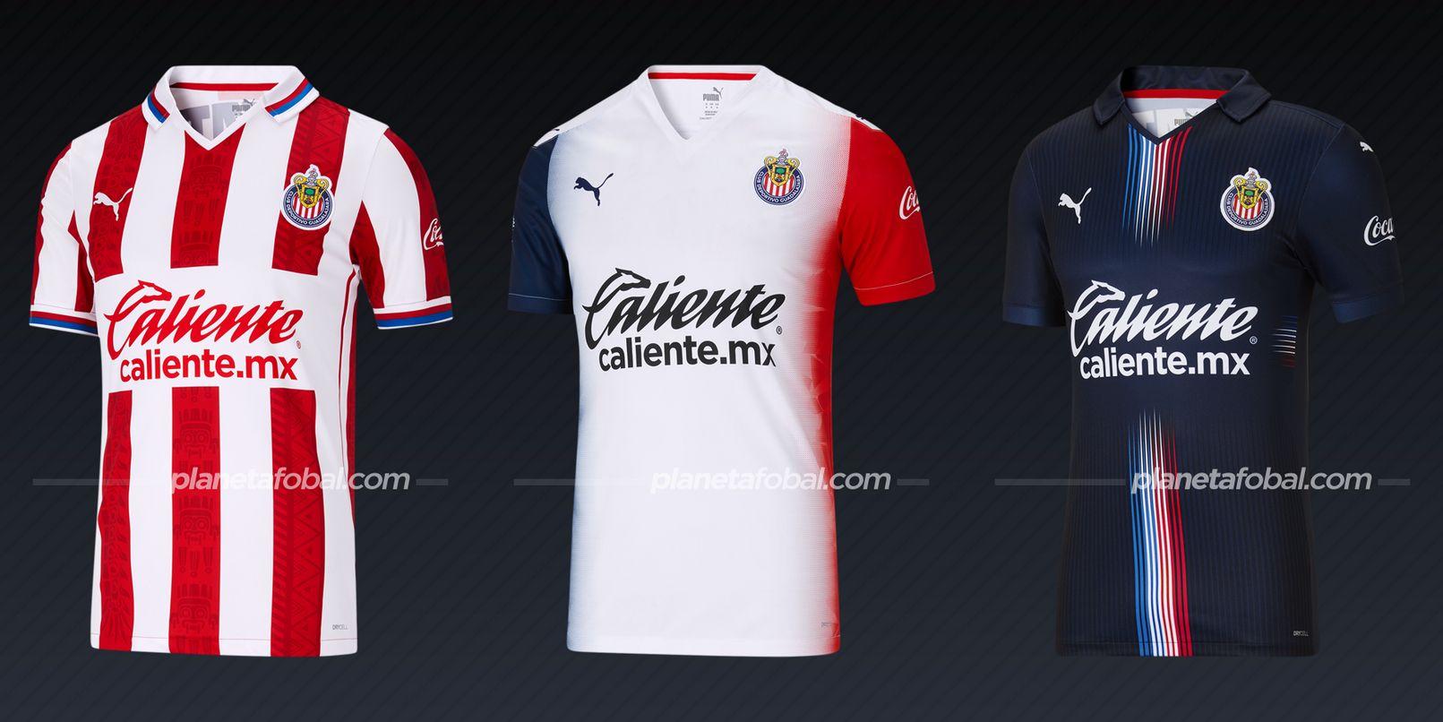 Chivas de Guadalajara (Puma) | Camisetas de la Liga MX 2020/2021
