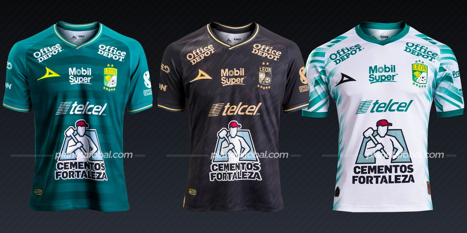 Club León (Pirma) | Camisetas de la Liga MX 2020/2021
