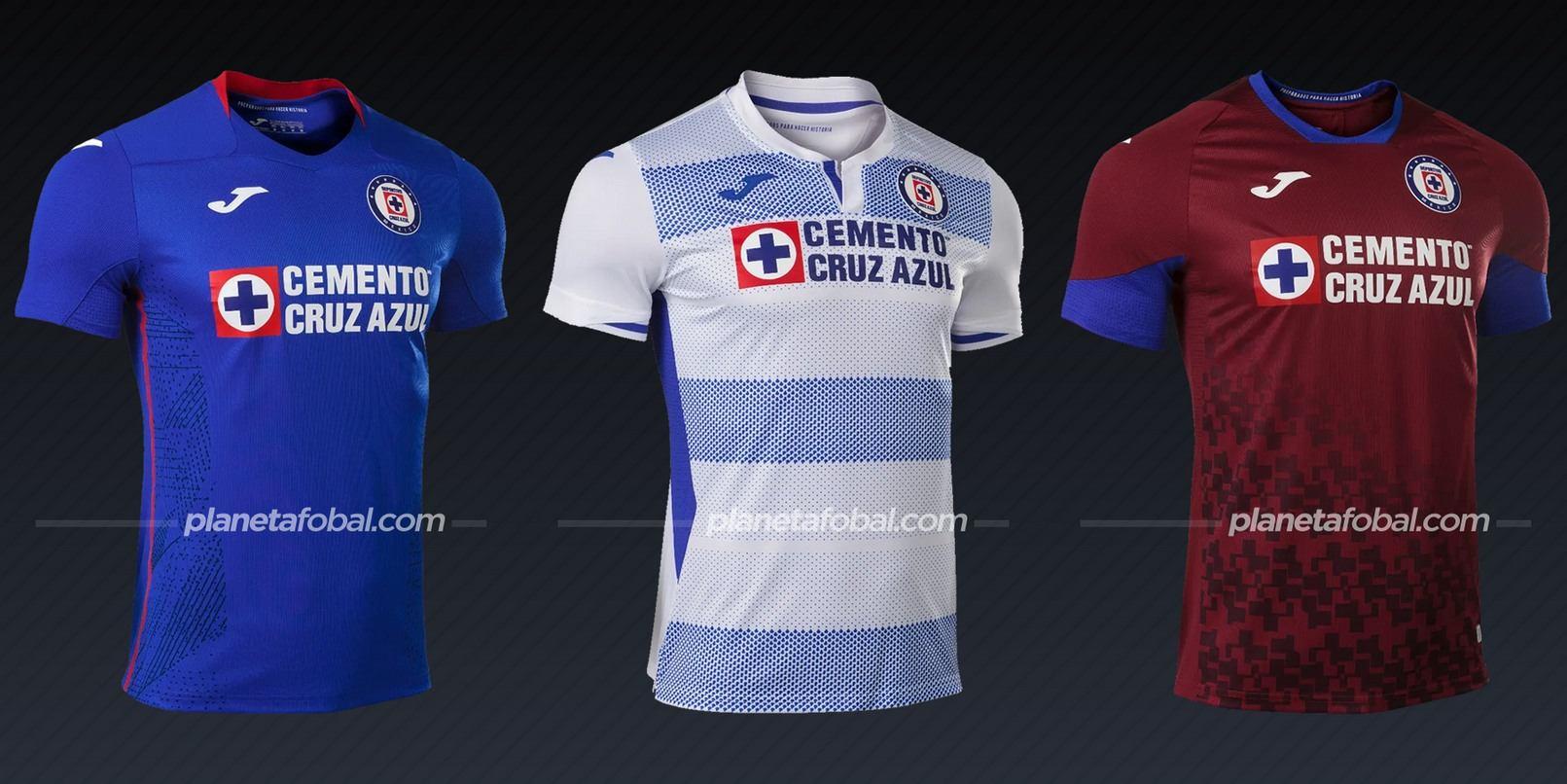 Cruz Azul (Joma) | Camisetas de la Liga MX 2020/2021