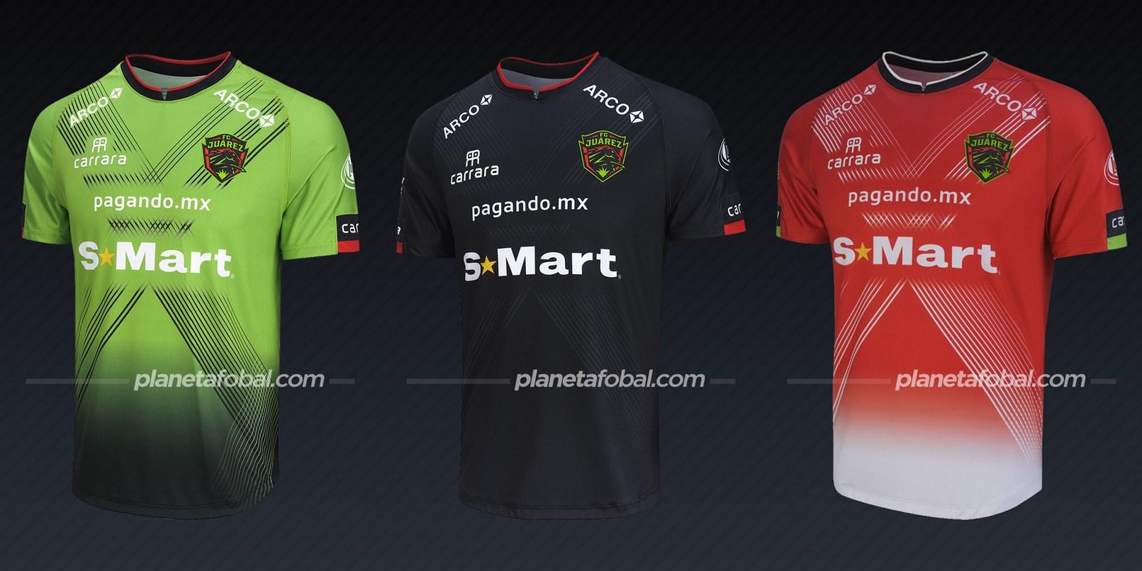 FC Juárez (Carrara) | Camisetas de la Liga MX 2020/2021