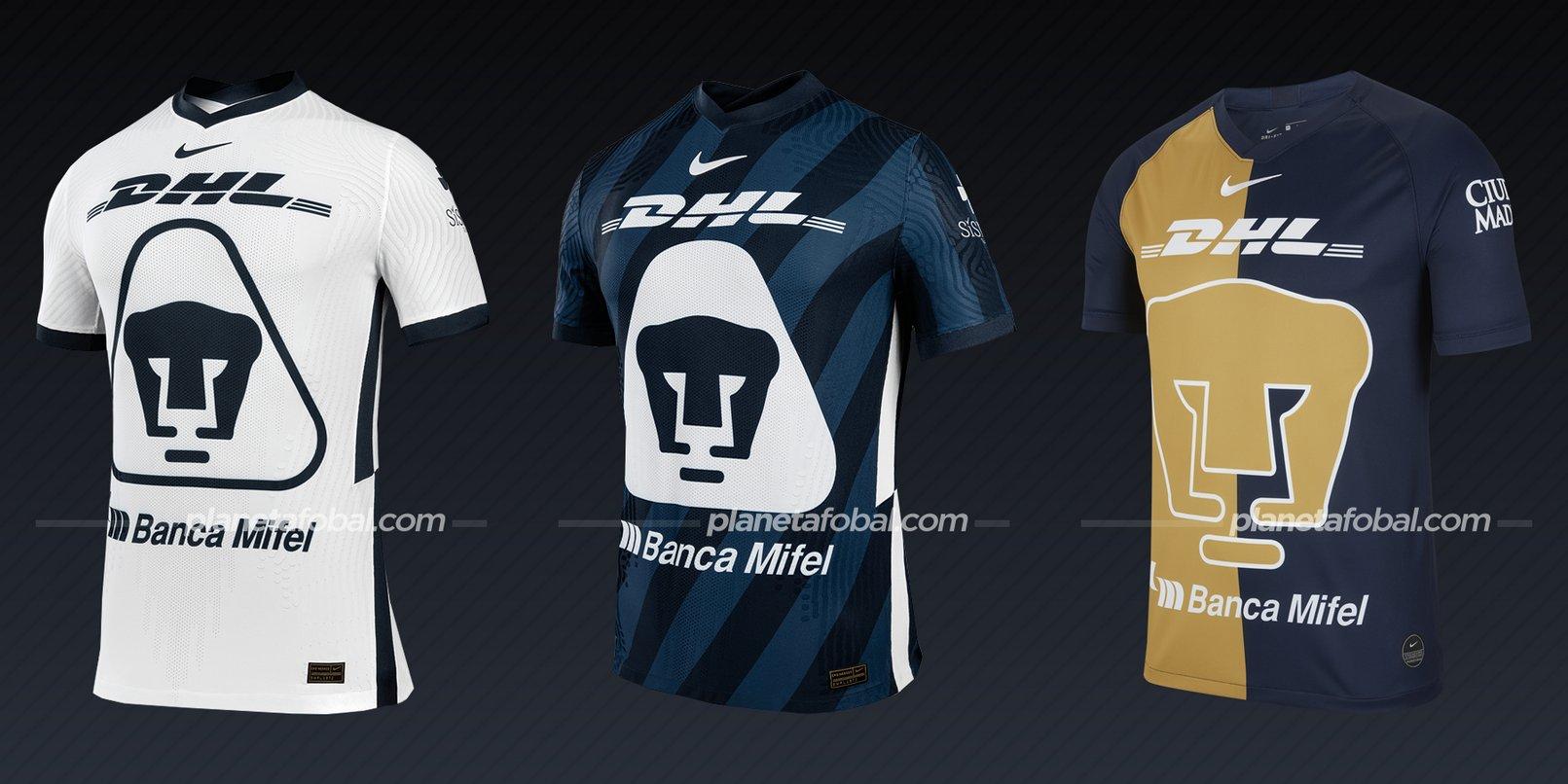 Pumas UNAM (Nike) | Camisetas de la Liga MX 2020/2021