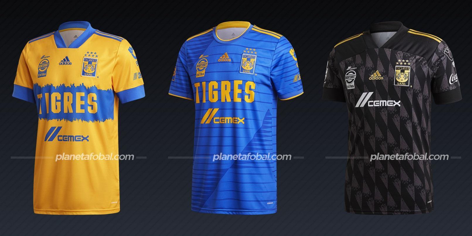 Tigres de la UANL (adidas) | Camisetas de la Liga MX 2020/2021