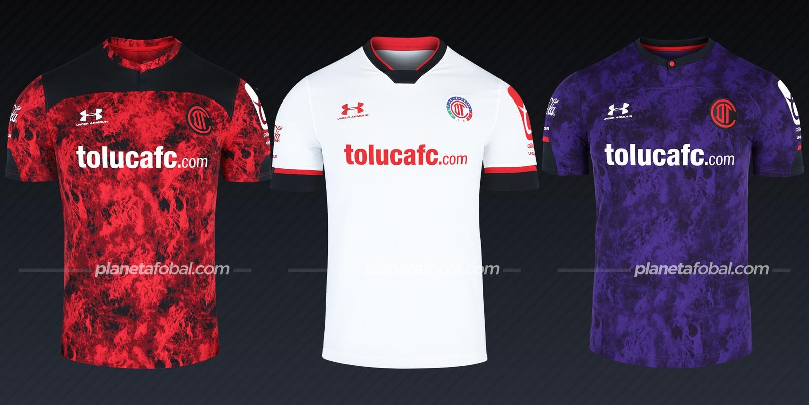 Toluca (Under Armour) | Camisetas de la Liga MX 2020/2021