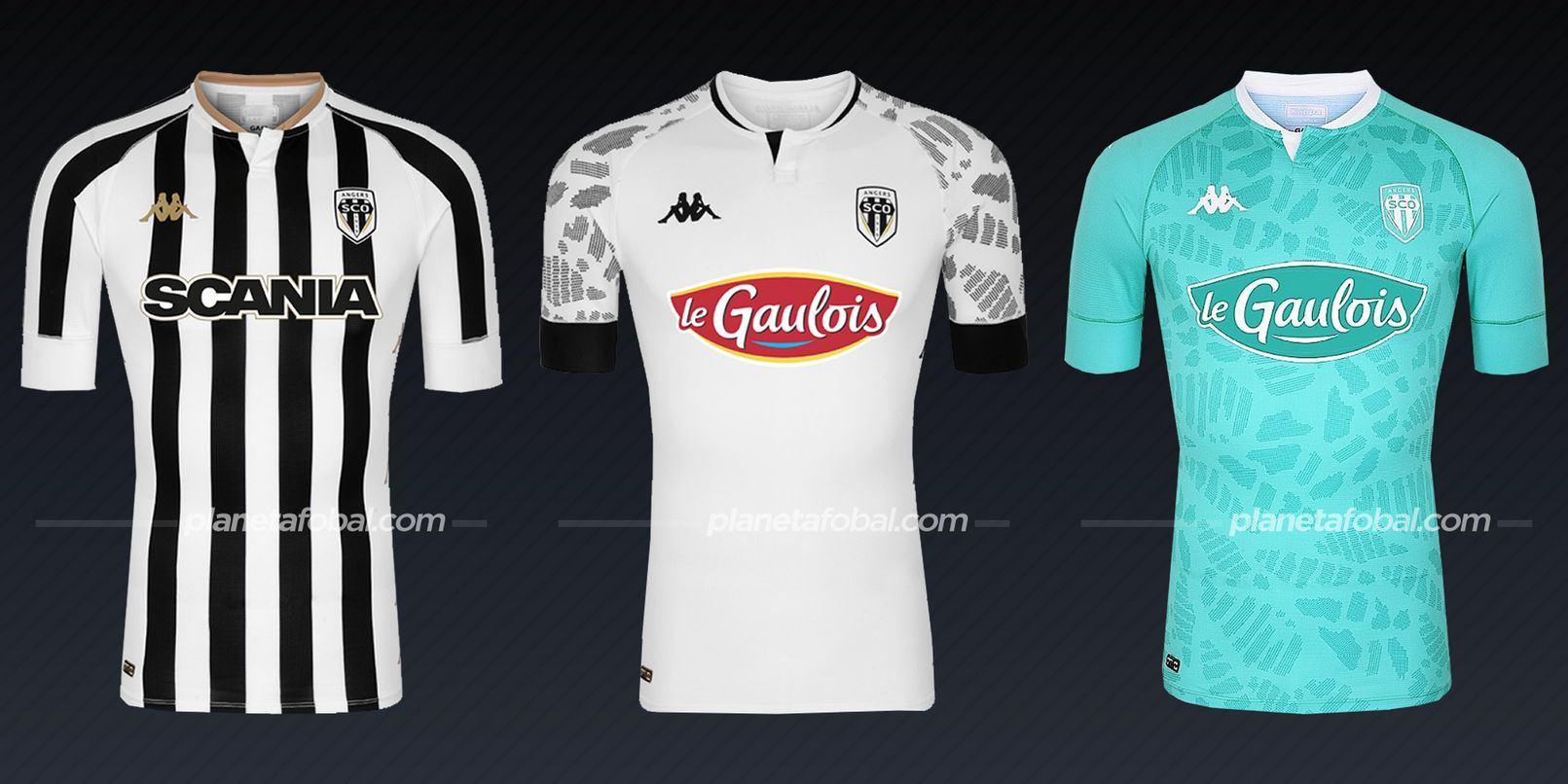 Angers SCO (Kappa) | Camisetas de la Ligue 1 2020/2021