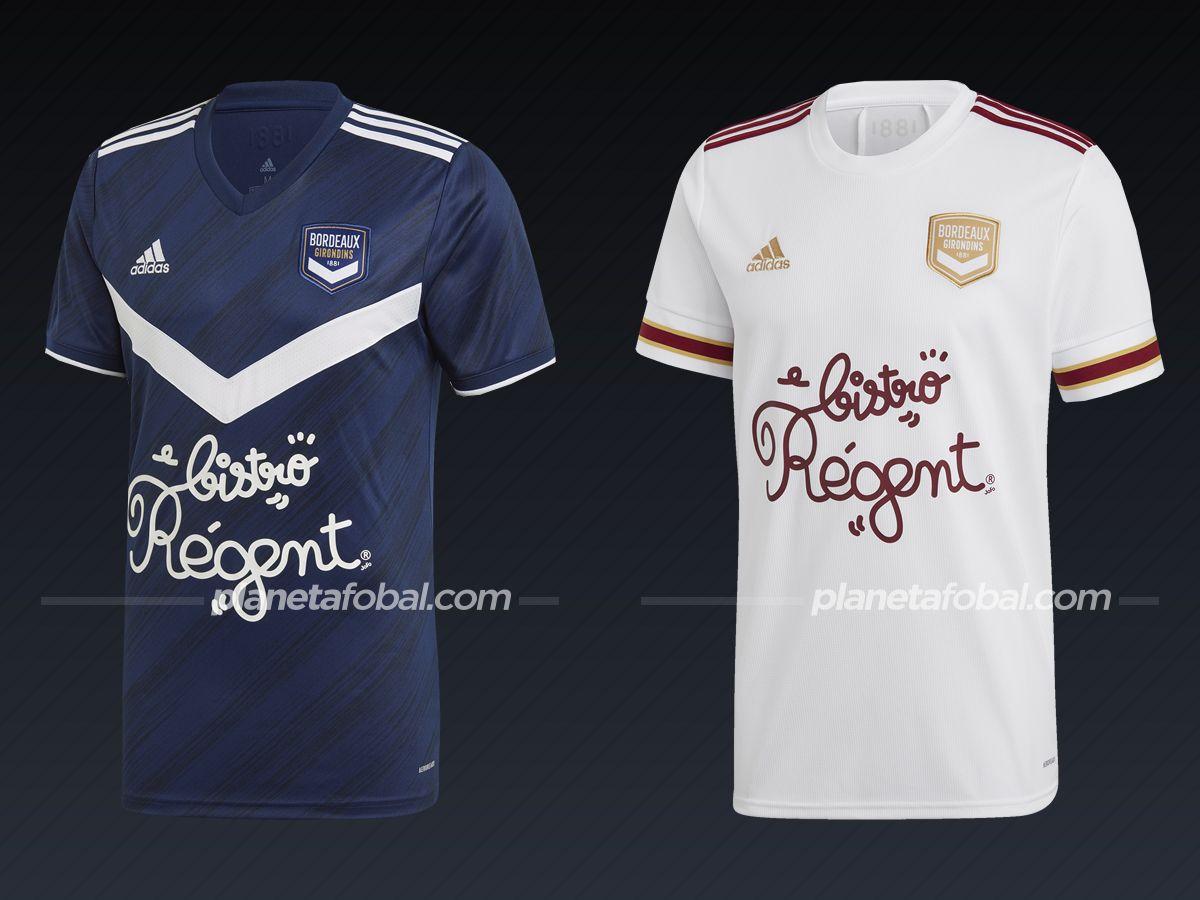 Girondins de Bordeaux (adidas) | Camisetas de la Ligue 1 2020/2021