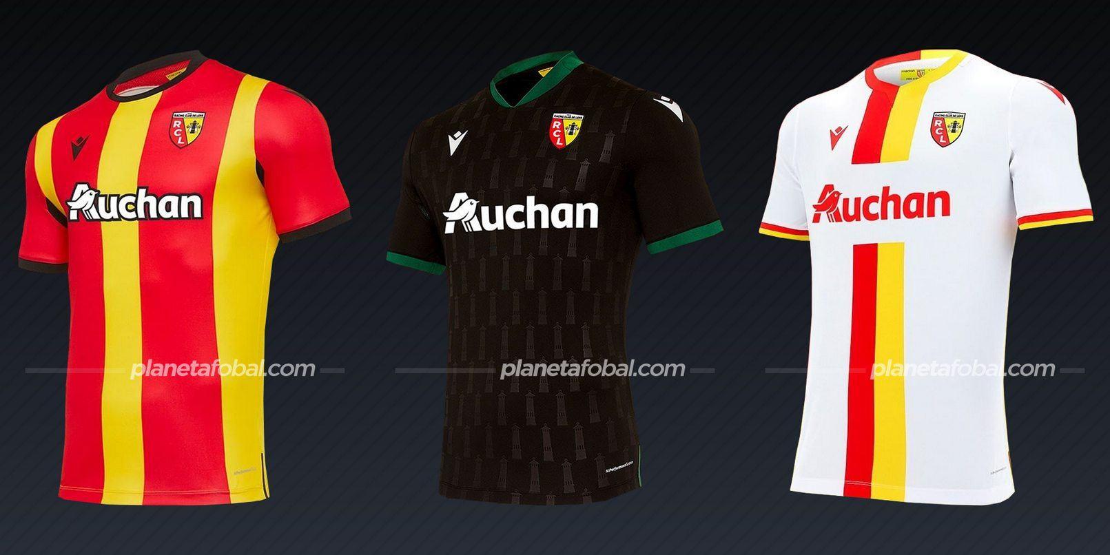 RC Lens (Macron) | Camisetas de la Ligue 1 2020/2021