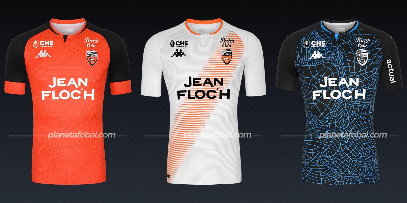 Lorient (Kappa) | Camisetas de la Ligue 1 2020/2021