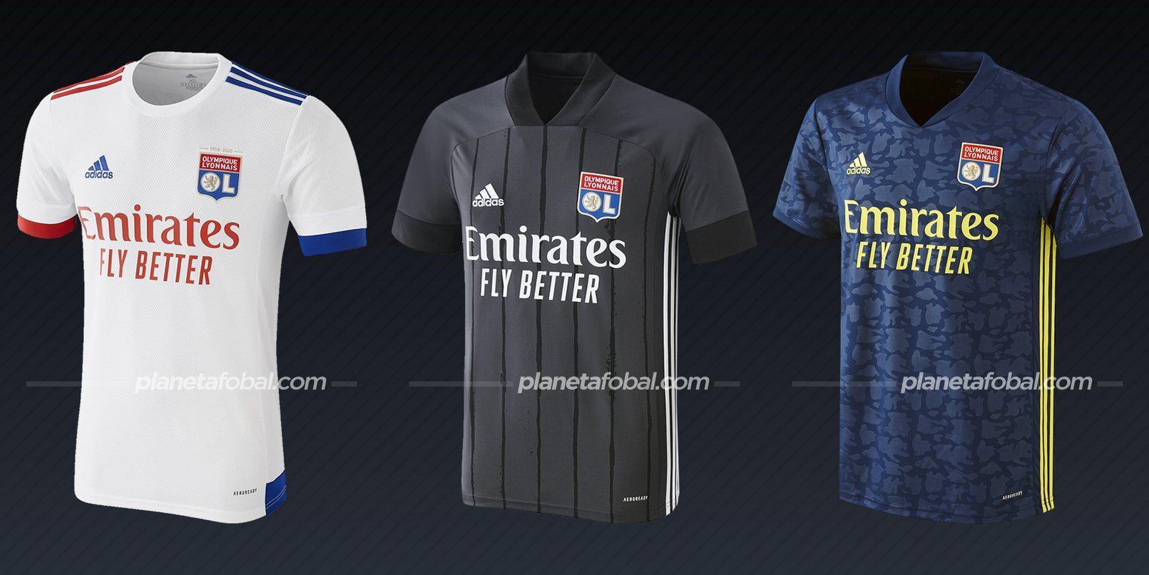 Lyon (adidas) | Camisetas de la Ligue 1 2020/2021