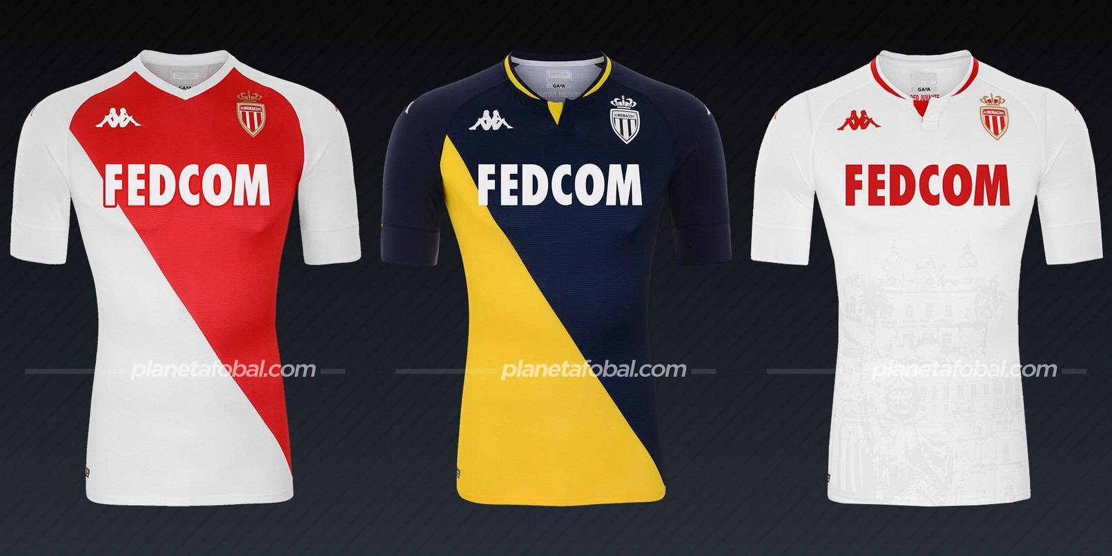 AS Monaco (Kappa) | Camisetas de la Ligue 1 2020/2021