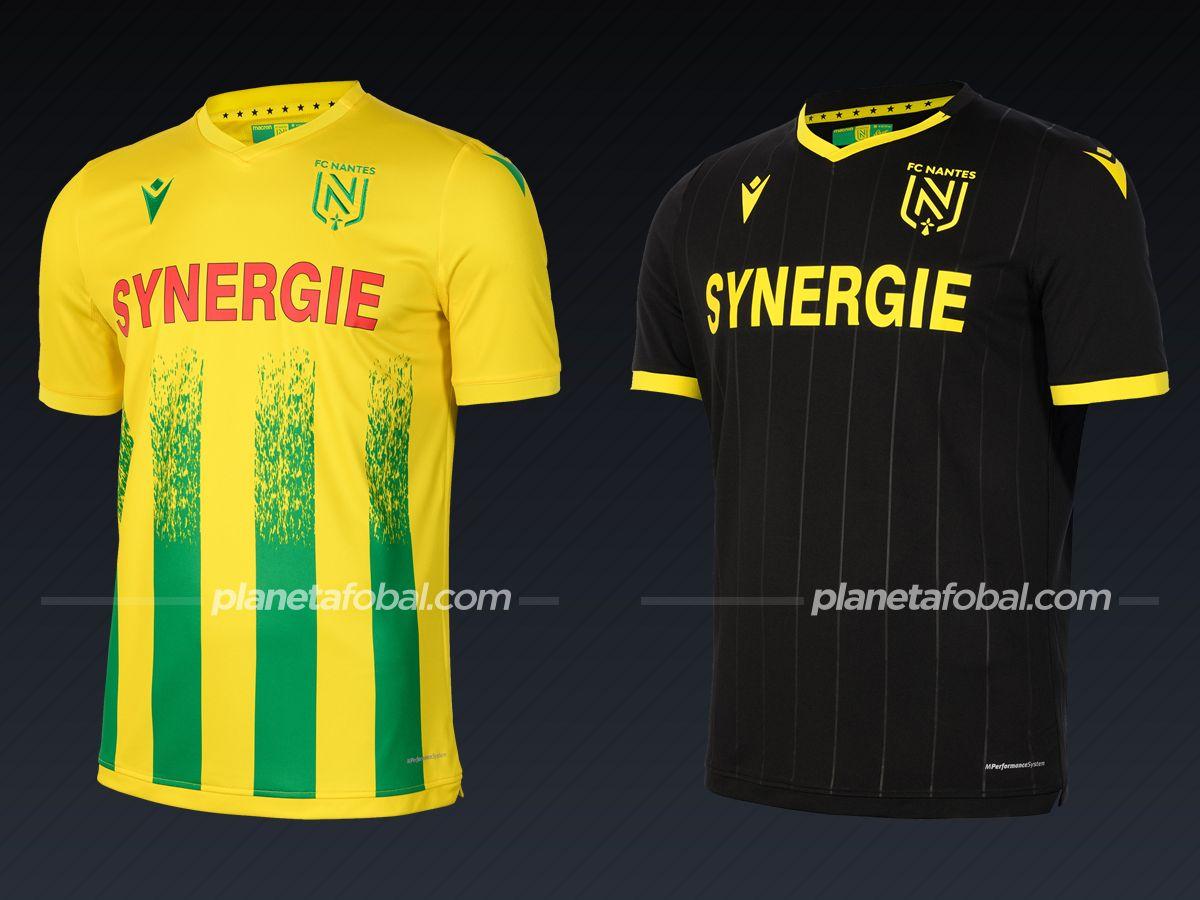 FC Nantes (Macron) | Camisetas de la Ligue 1 2020/2021