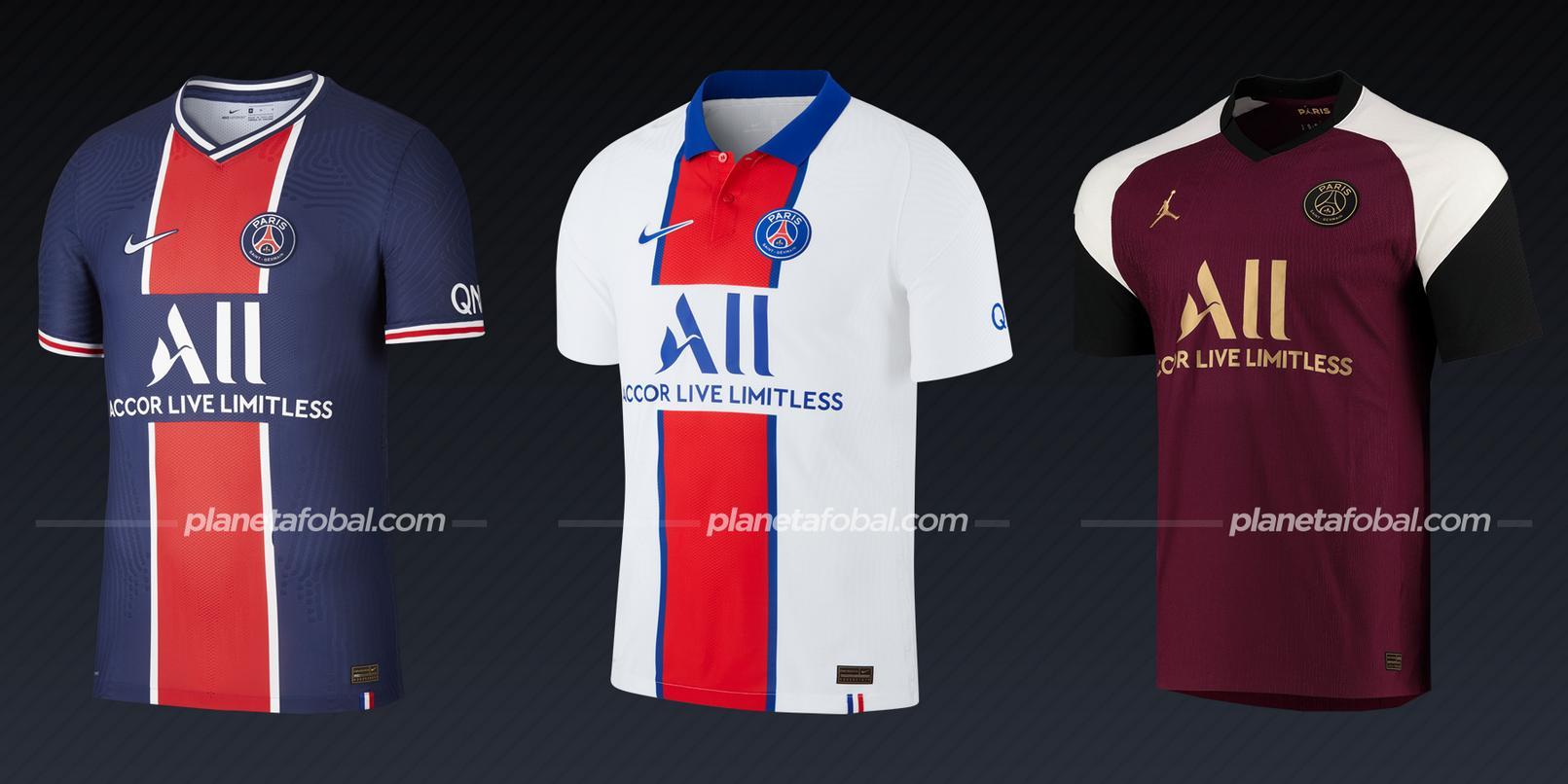 PSG (Nike) | Camisetas de la Ligue 1 2020/2021