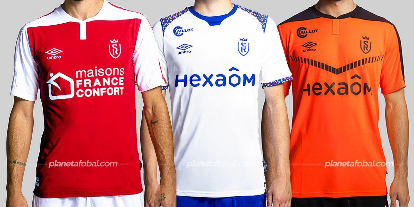 Stade de Reims (Umbro) | Camisetas de la Ligue 1 2020/2021