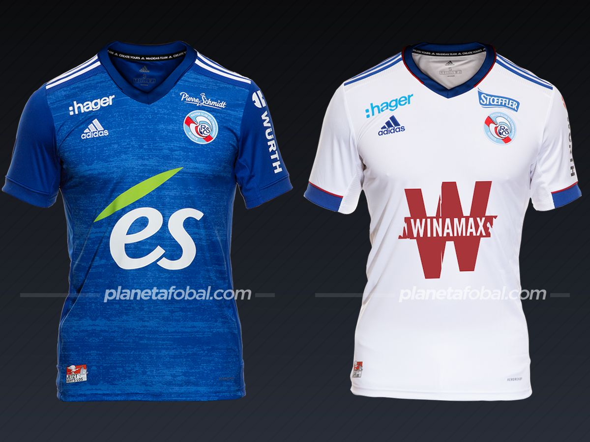 RC Strasbourg (adidas) | Camisetas de la Ligue 1 2020/2021