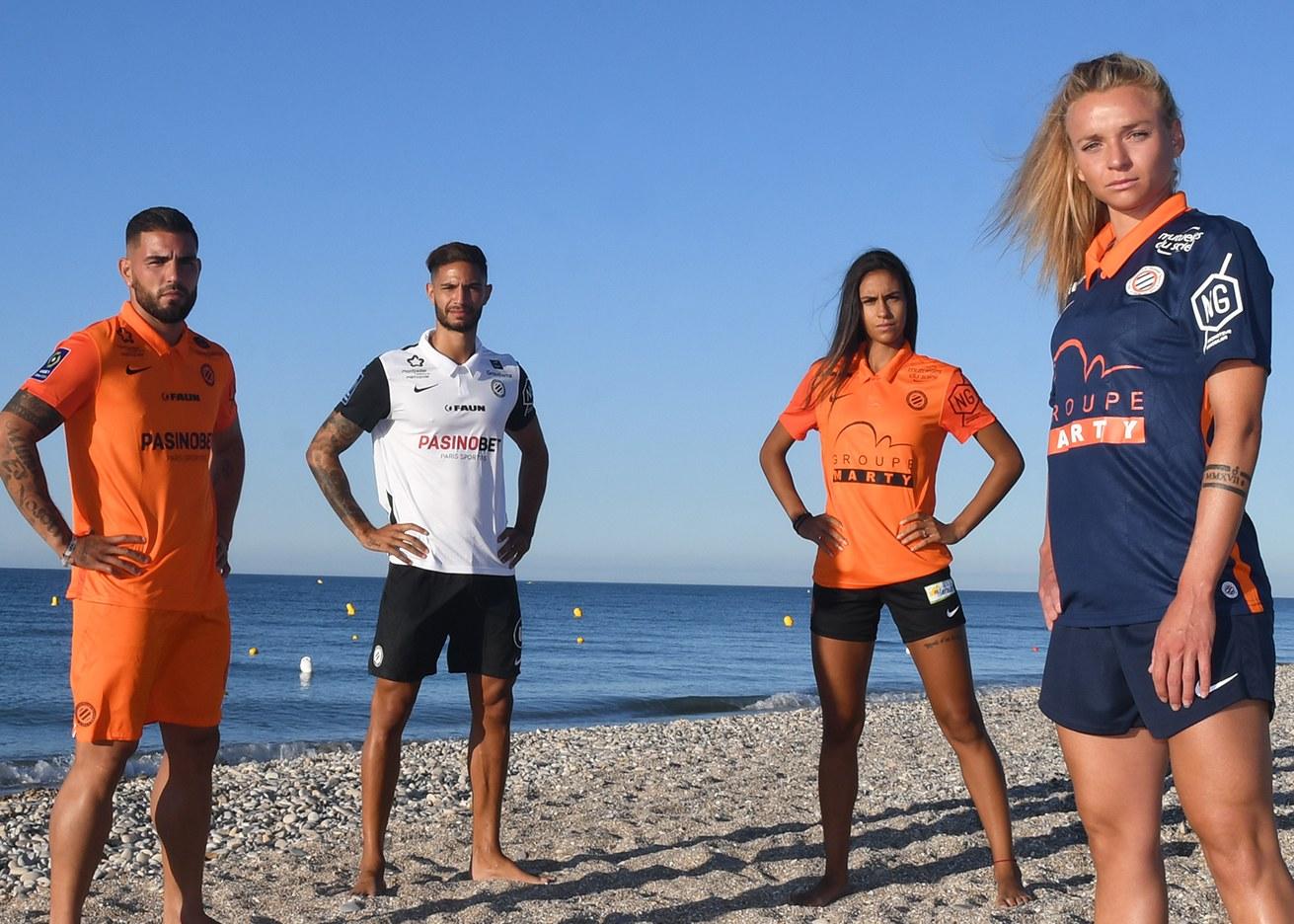 Camisetas Nike del Montpellier 2020/21 | Imagen Web Oficial