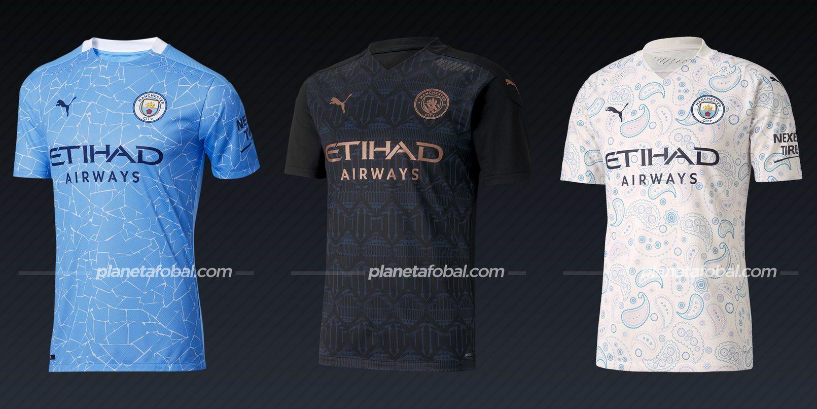 Manchester City (Puma) | Camisetas de la Premier League 2020/2021