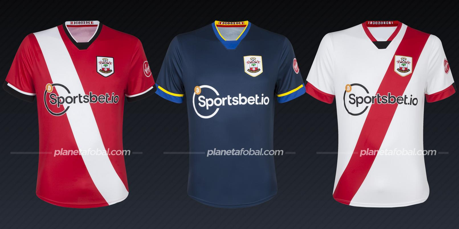 Southampton (Under Armour) | Camisetas de la Premier League 2020/2021