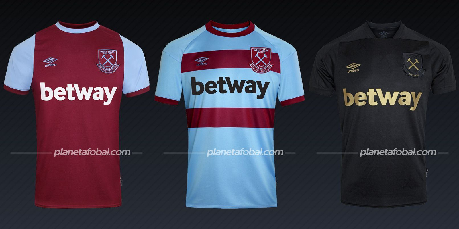 West Ham (Umbro) | Camisetas de la Premier League 2020/2021