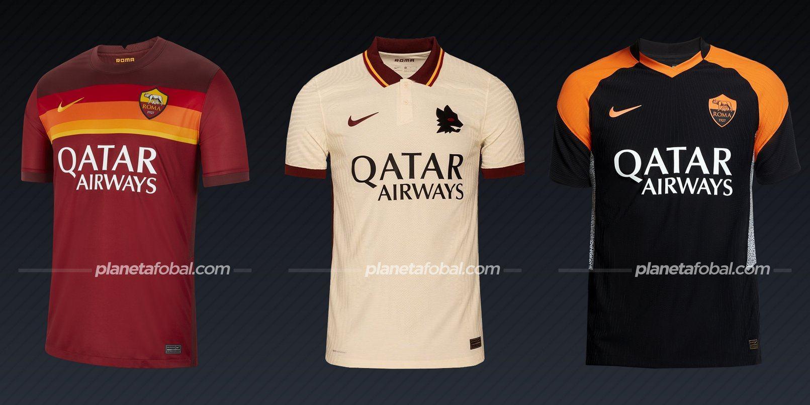 AS Roma (Nike) | Camisetas de la Serie A 2020/2021