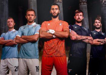 Camisetas Macron de la Lazio 2020/2021 | Imagen Twitter Oficial