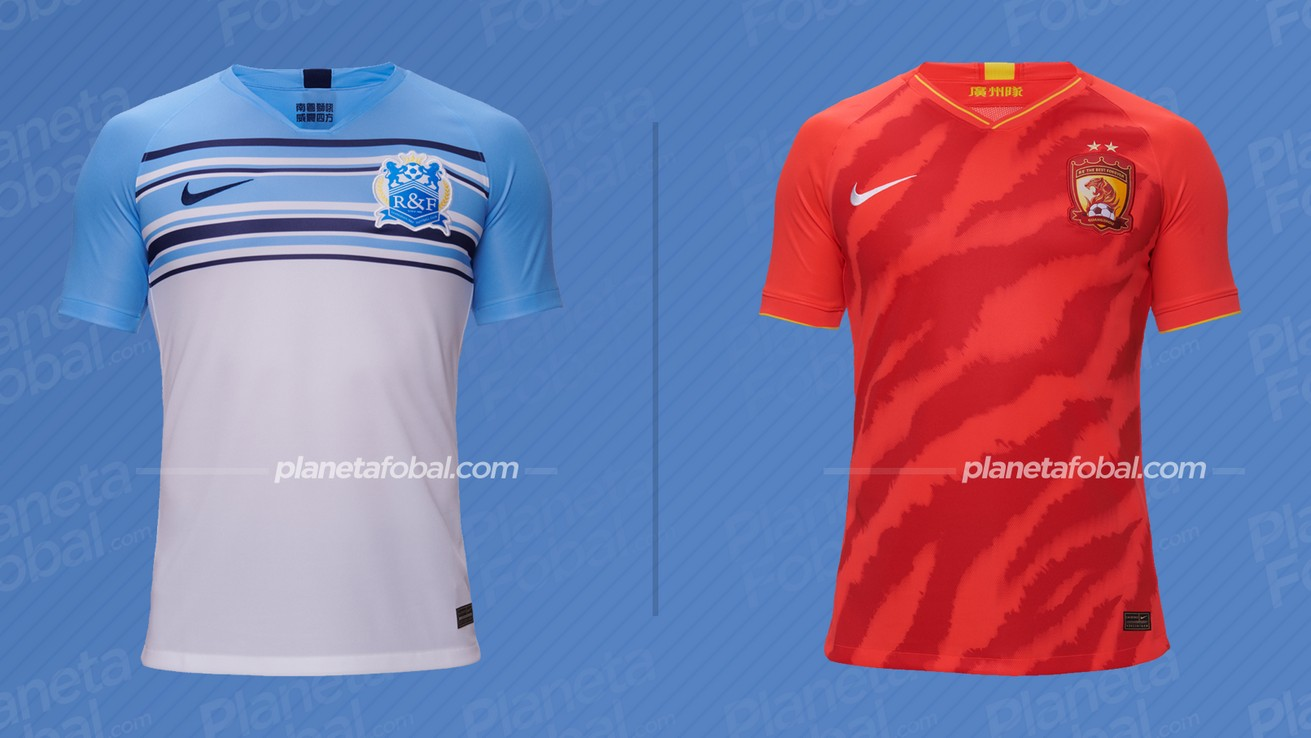 Camisetas de la Superliga China 2020 | Imágenes Nike