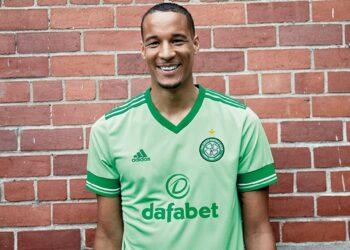 Camiseta suplente adidas del Celtic FC 2020/21 | Imagen Web Oficial
