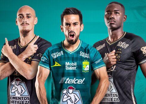 Jerseys oficiales del Club León 2020/21   Imagen Pirma
