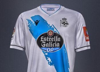Tercera camiseta Macron del Deportivo La Coruña 2020/21 | Imagen Web Oficial