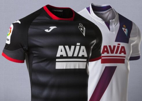 Camisetas alternativas Joma del SD Eibar 2020/21