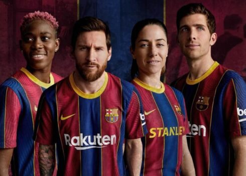 Camiseta Nike del Barcelona 2020/2021 | Imagen Web Oficial