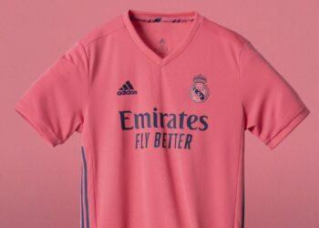 Equipación rosa del Real Madrid 2020/2021 | Imagen adidas