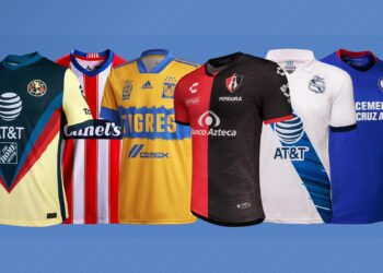 Camisetas de la Liga MX Apertura 2020