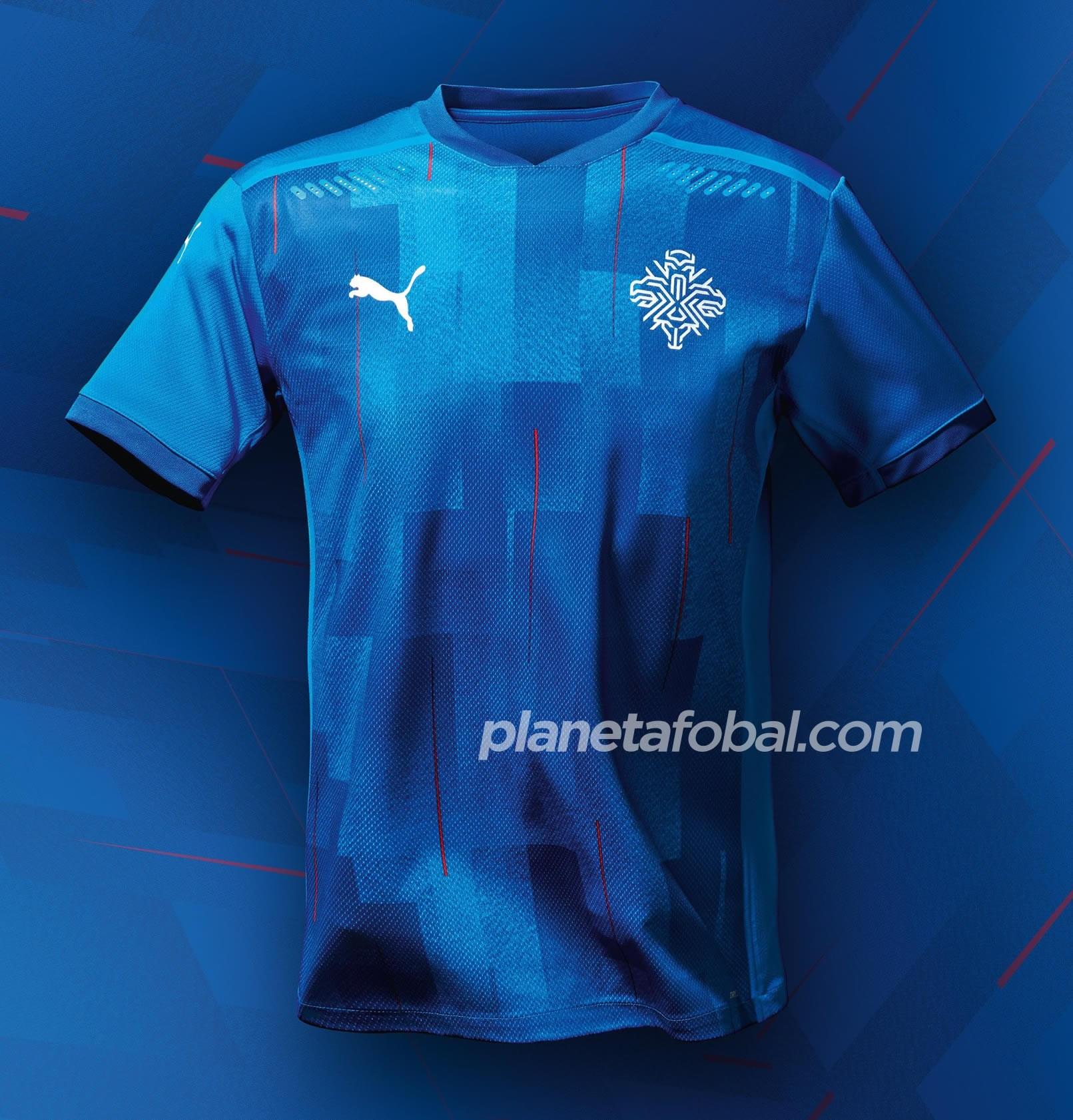 Camiseta Puma de Islandia 2020   Imagen KSI