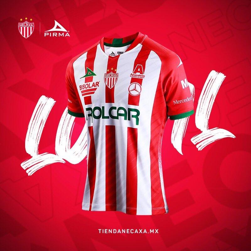 Camiseta local Pirma del Club Necaxa 2020/21 | Imagen Twitter Oficial