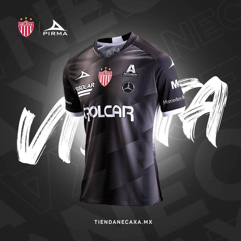 Camiseta visitante Pirma del Club Necaxa 2020/21 | Imagen Twitter Oficial