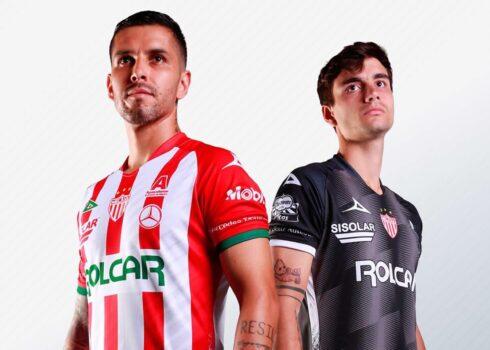 Jerseys Pirma del Club Necaxa 2020/21 | Imagen Web Oficial