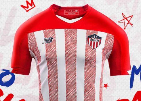 Camiseta titular del Junior 2020/21   Imagen New Balance