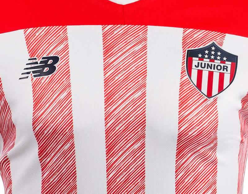 Camiseta titular del Junior 2020/21 | Imagen New Balance