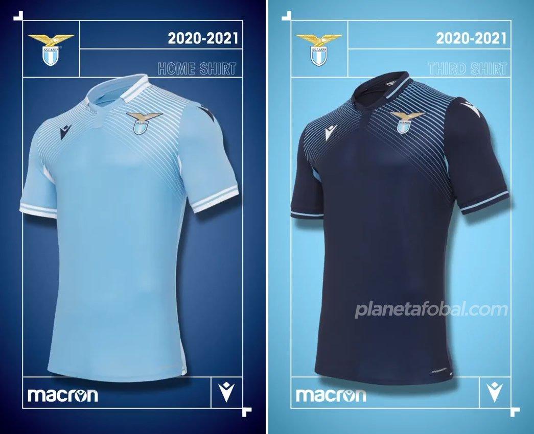 Camisetas Macron de la Lazio 2020/2021