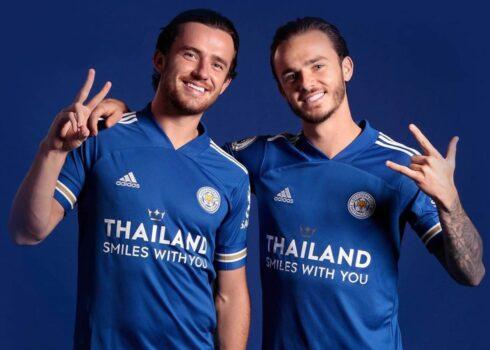 Camiseta Adidas del Leicester City 2020/21 | Imagen Web Oficial